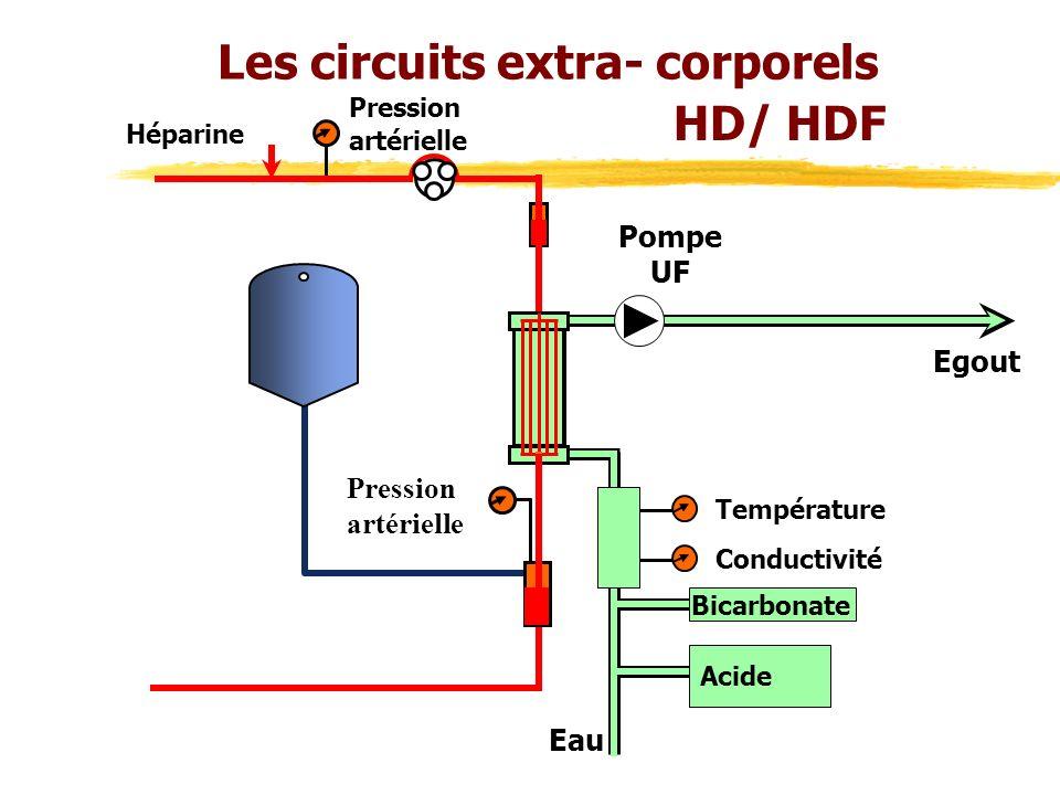 Les circuits extra- corporels