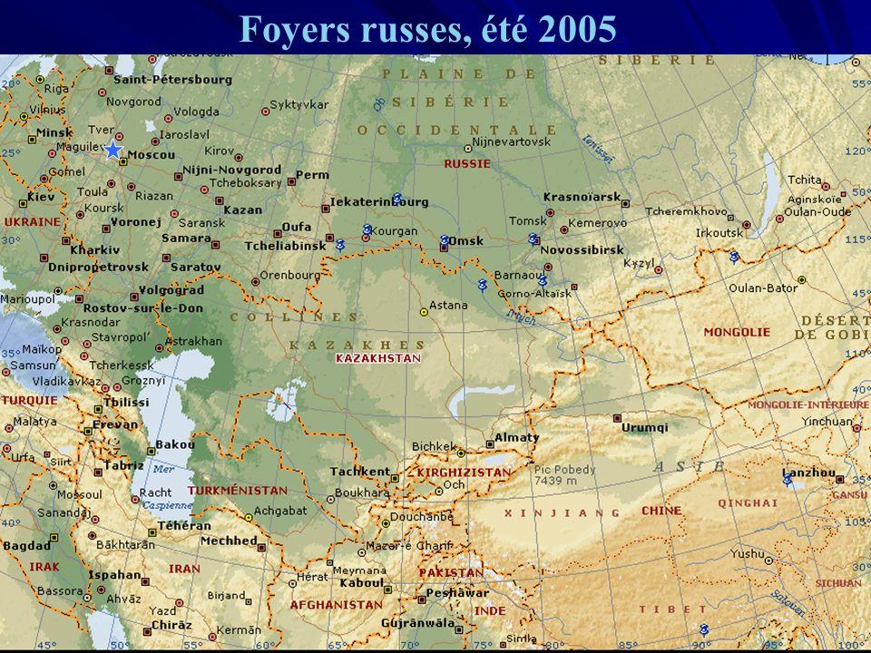 Foyers russes, été 2005 URML Ile-de-France