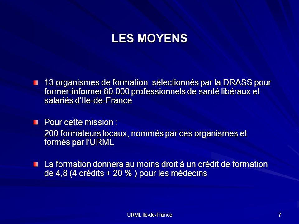 LES MOYENS