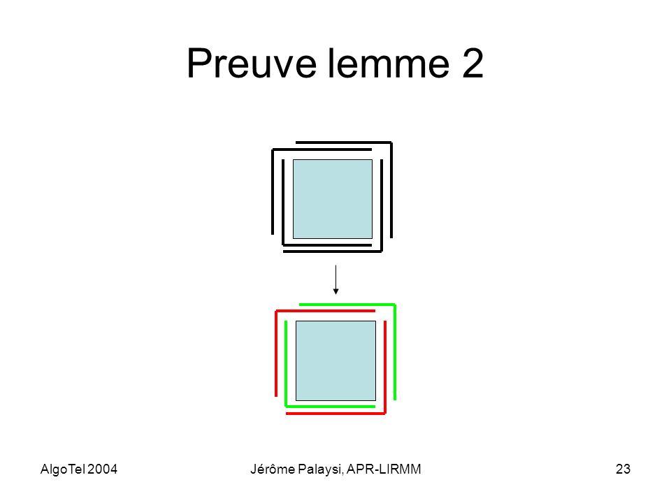 Jérôme Palaysi, APR-LIRMM
