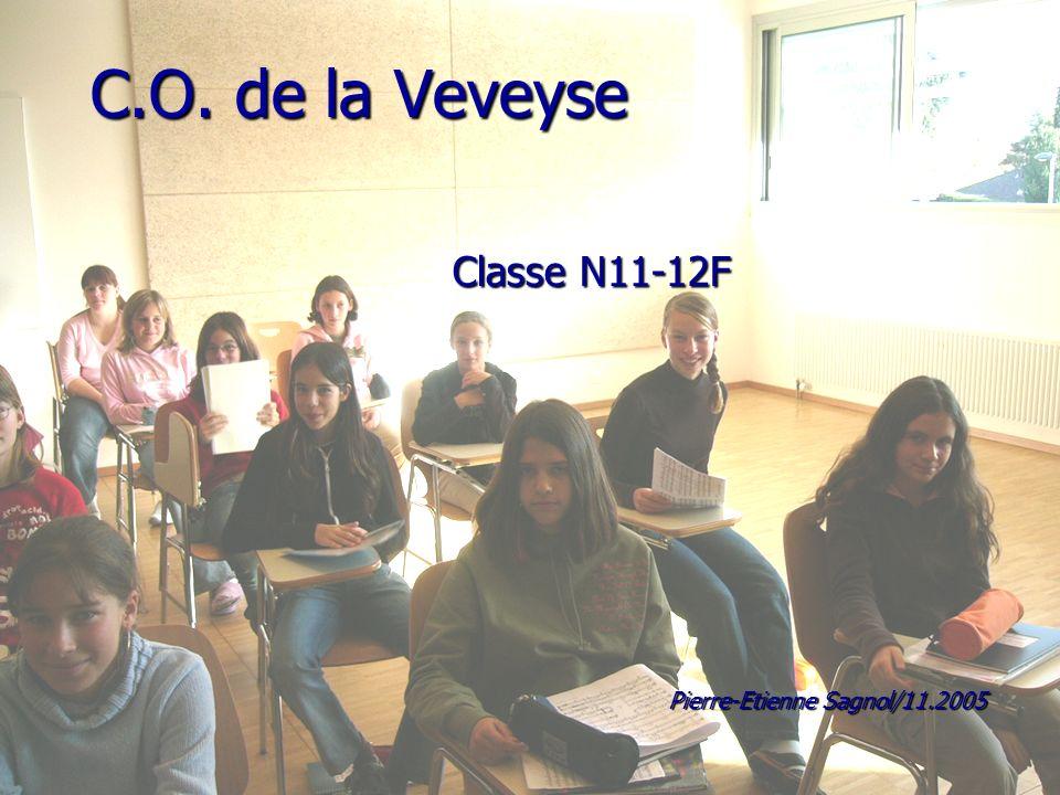 C.O. de la Veveyse Classe N11-12F Pierre-Etienne Sagnol/11.2005