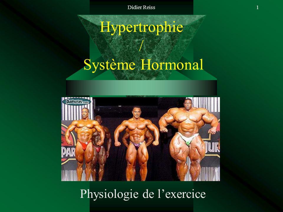 Hypertrophie / Système Hormonal