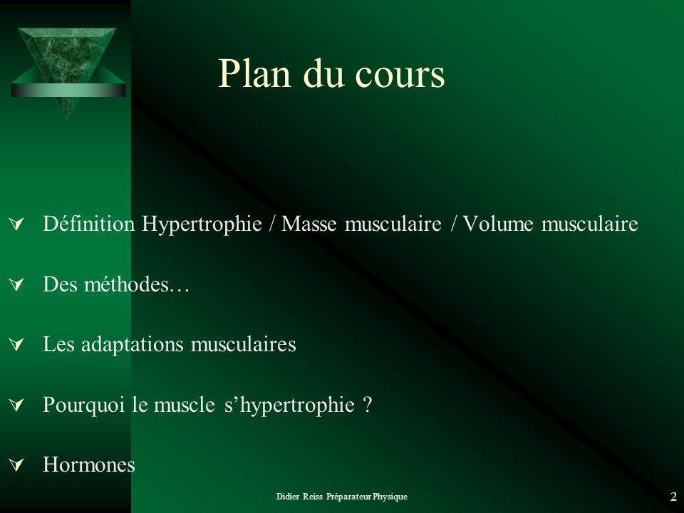 Didier Reiss Préparateur Physique