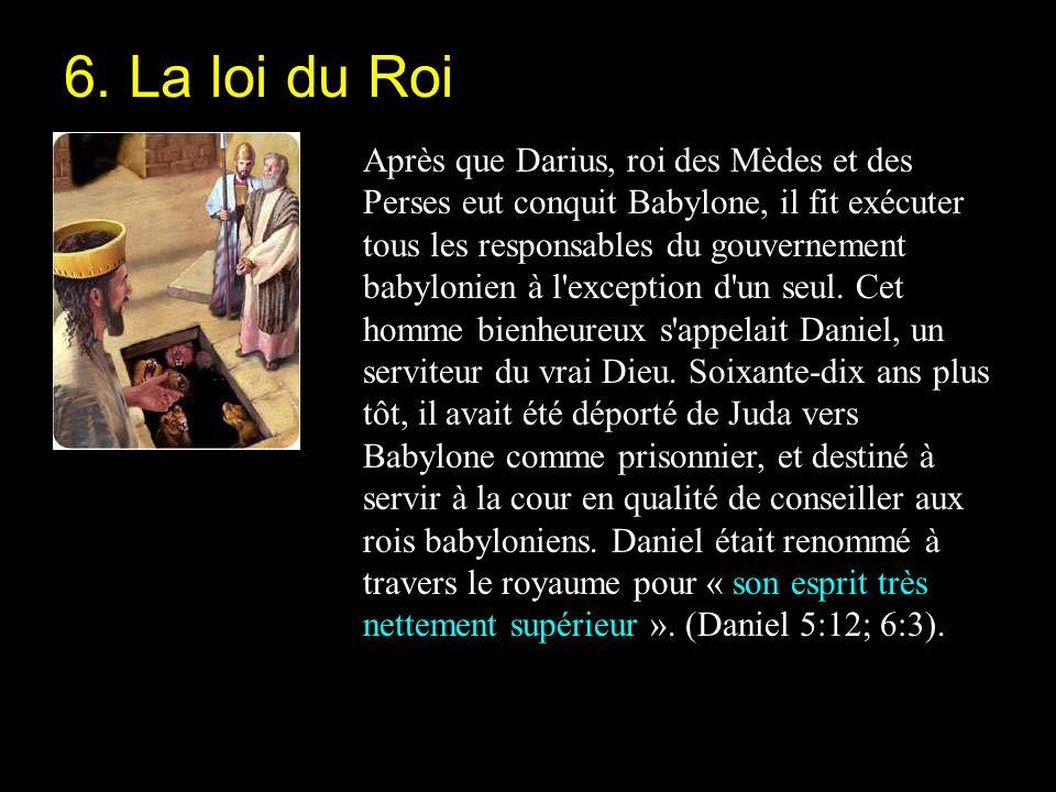 6. La loi du Roi