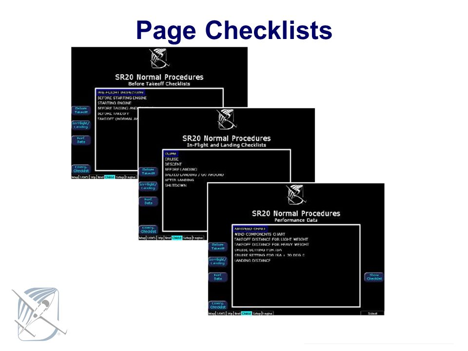 Page Checklists