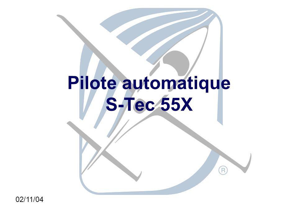 Pilote automatique S-Tec 55X