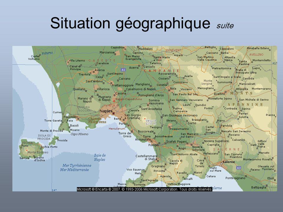 Situation géographique suite
