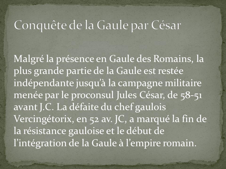 Conquête de la Gaule par César
