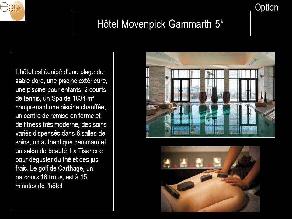 Hôtel Movenpick Gammarth 5*