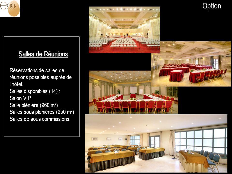Option Salles de Réunions