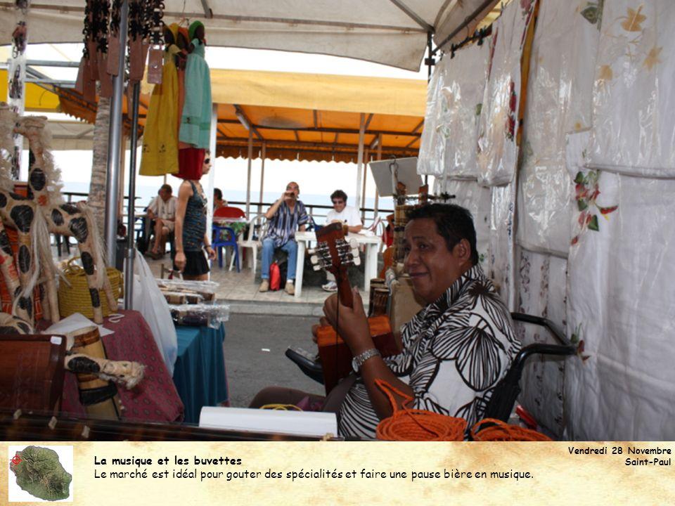  La musique et les buvettes
