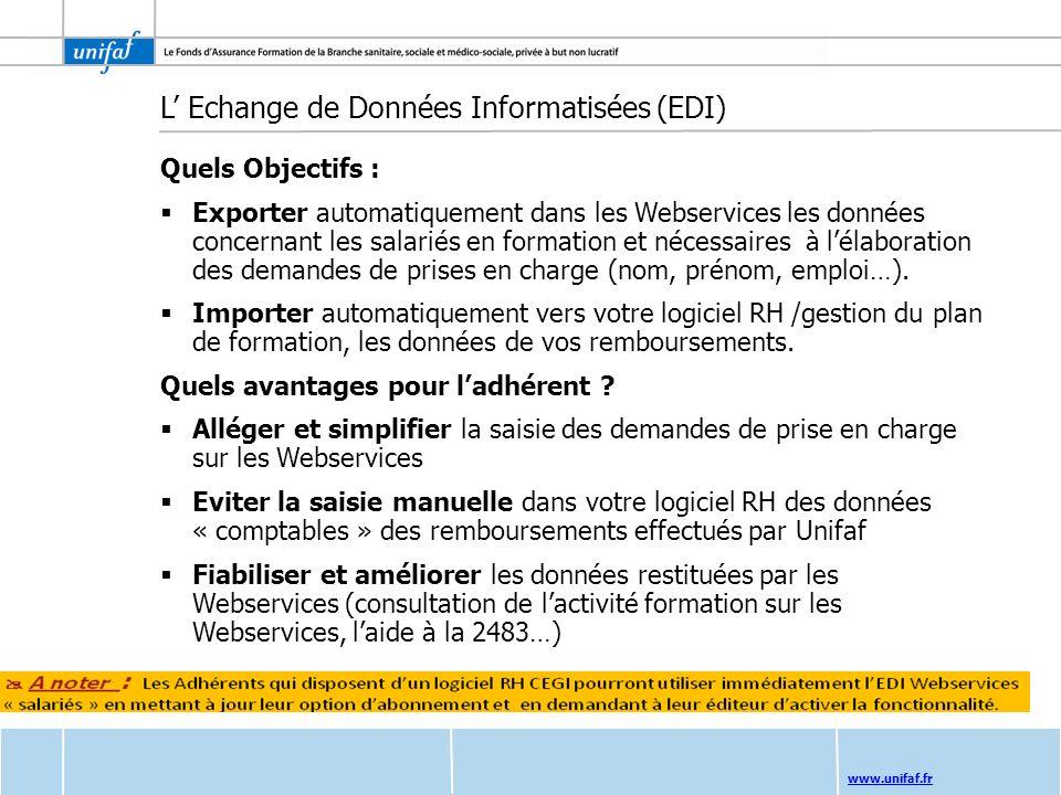 L' Echange de Données Informatisées (EDI)