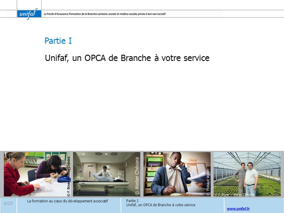 Unifaf, un OPCA de Branche à votre service