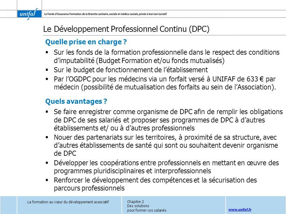 Le Développement Professionnel Continu (DPC)