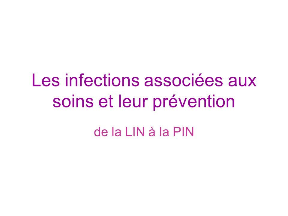 Les infections associées aux soins et leur prévention
