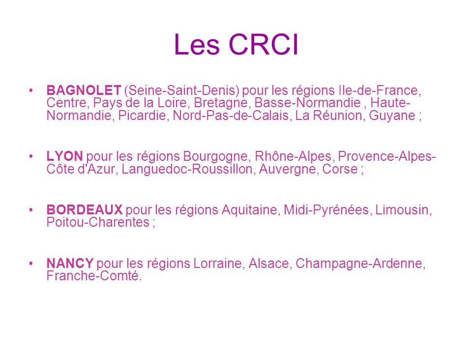 Les CRCI
