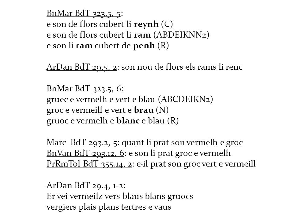 BnMar BdT 323.5, 5: e son de flors cubert li reynh (C) e son de flors cubert li ram (ABDEIKNN2) e son li ram cubert de penh (R)