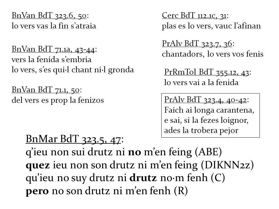 q'ieu non sui drutz ni no m'en feing (ABE)