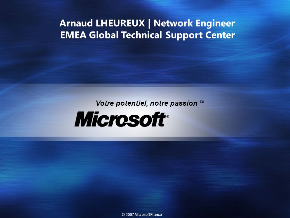 Arnaud LHEUREUX | Network Engineer