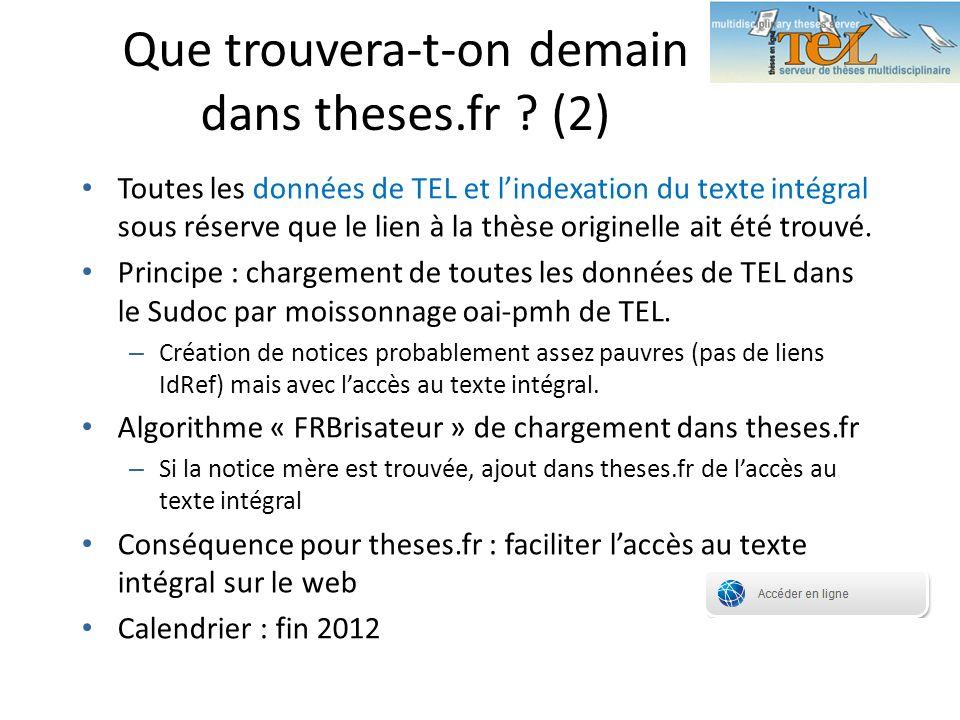 Que trouvera-t-on demain dans theses.fr (2)
