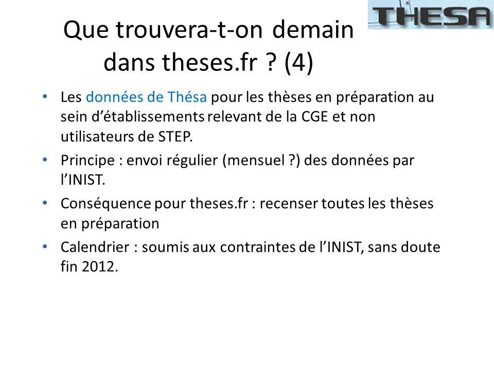 Que trouvera-t-on demain dans theses.fr (4)
