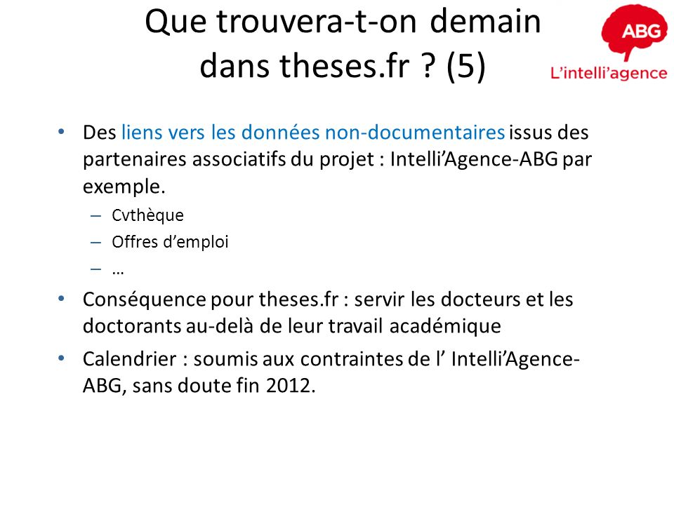 Que trouvera-t-on demain dans theses.fr (5)