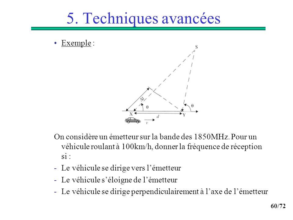 5. Techniques avancées Exemple :