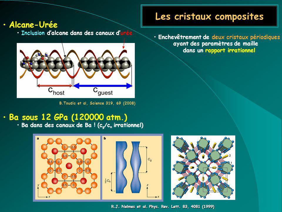 Les cristaux composites