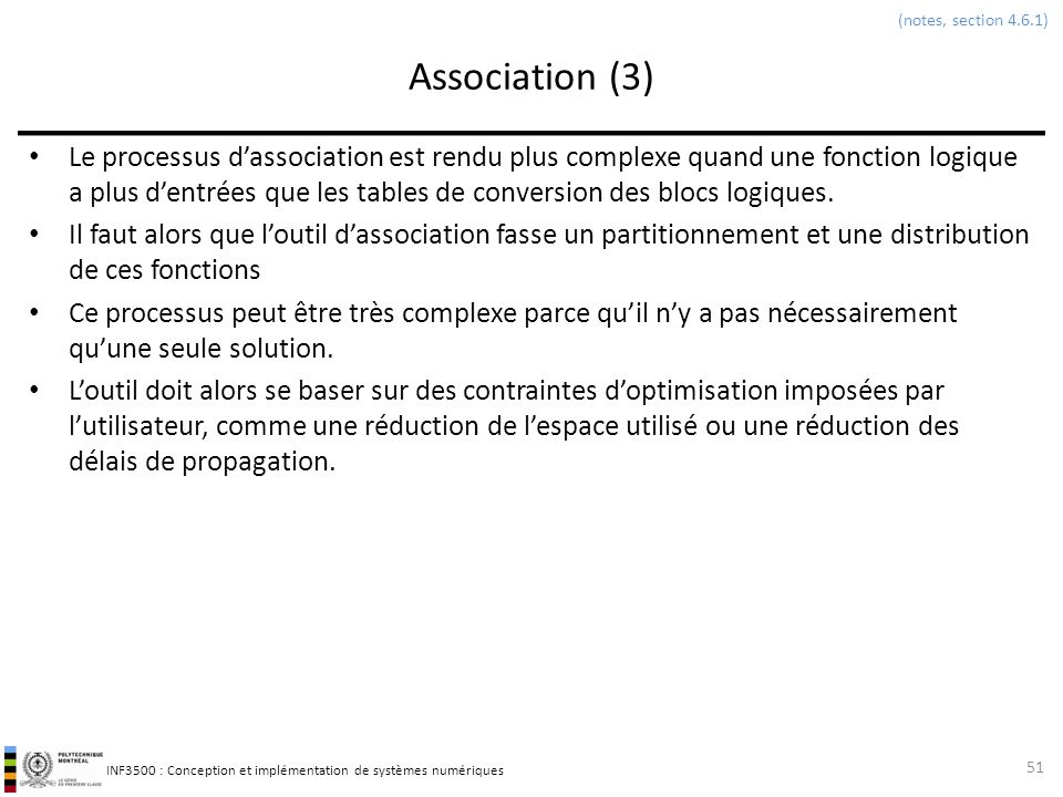 (notes, section 4.6.1) Association (3)