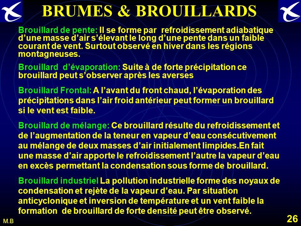 BRUMES & BROUILLARDS