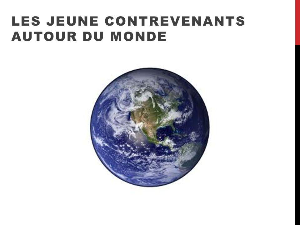 LES JEUNE CONTREVENANTS AUTOUR DU MONDE