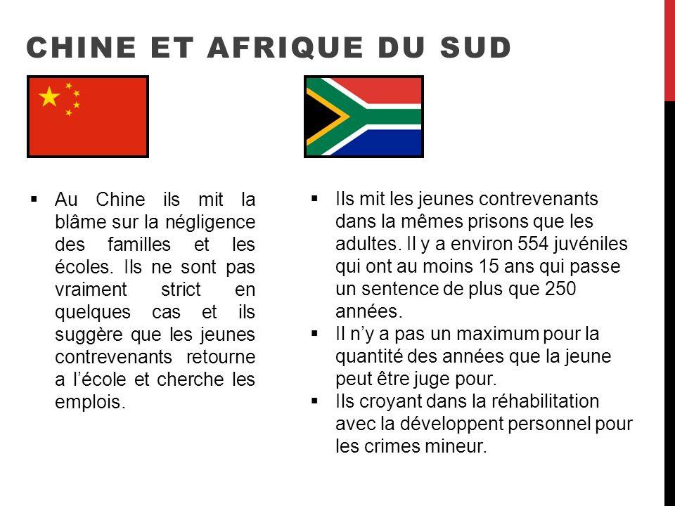 Chine et Afrique du sud