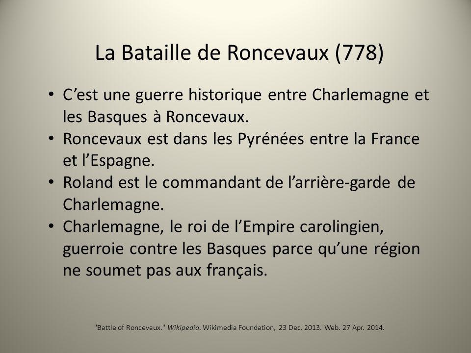 La Bataille de Roncevaux (778)