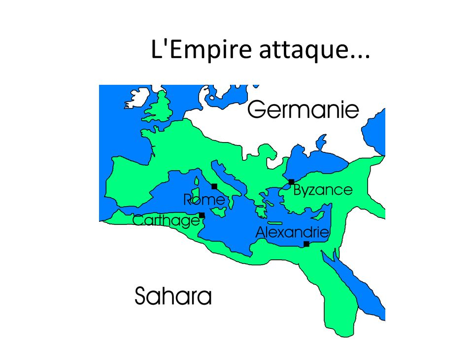 L Empire attaque...