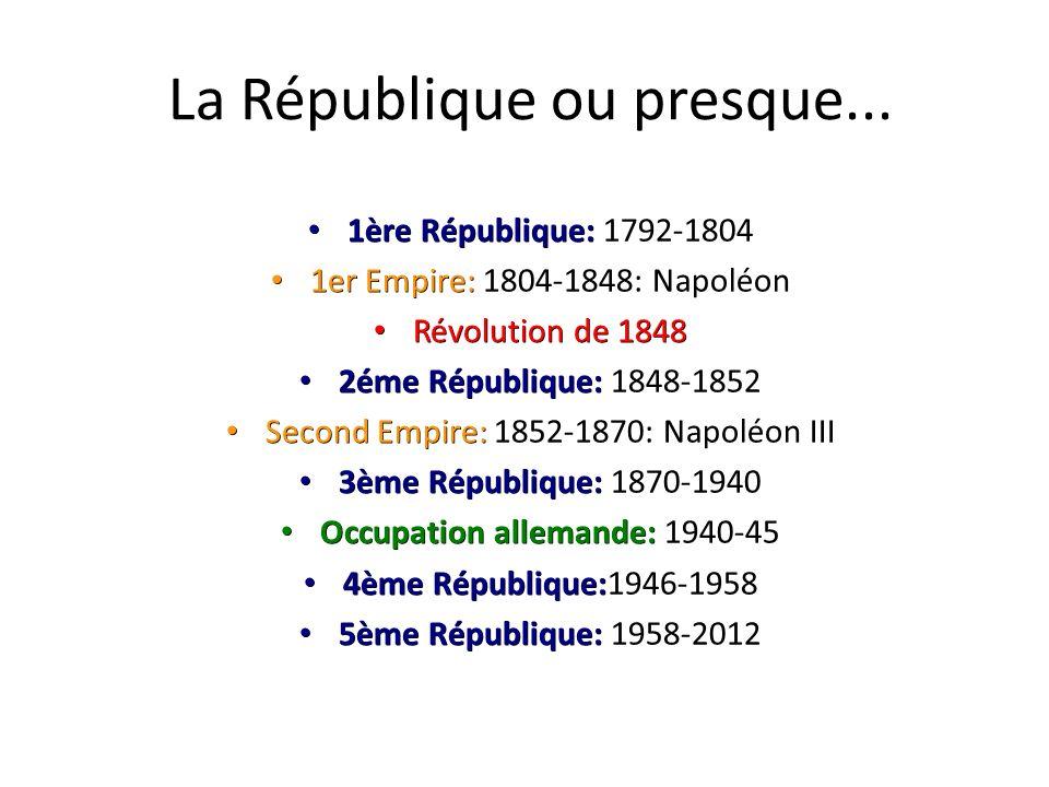 La République ou presque...