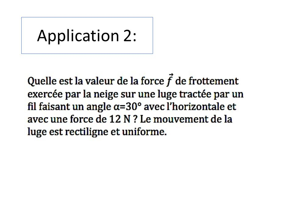 Application 2:
