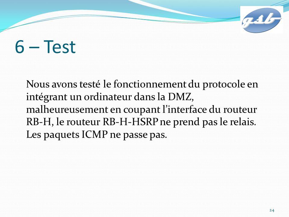 6 – Test