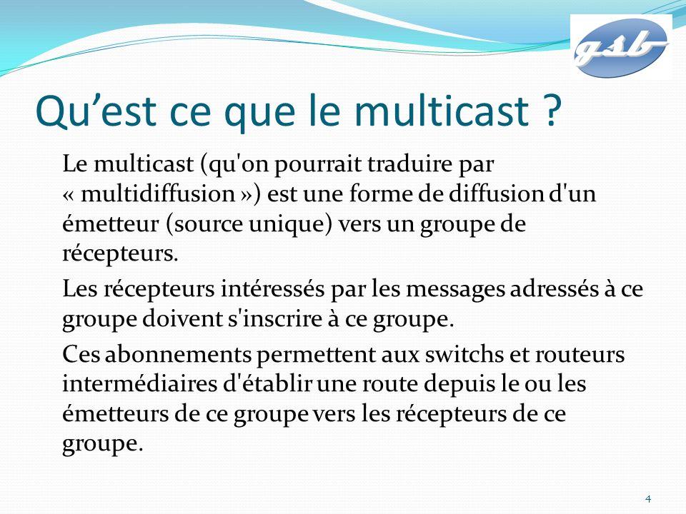 Qu'est ce que le multicast