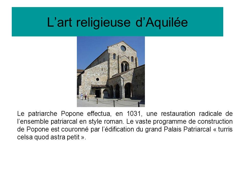 L'art religieuse d'Aquilée