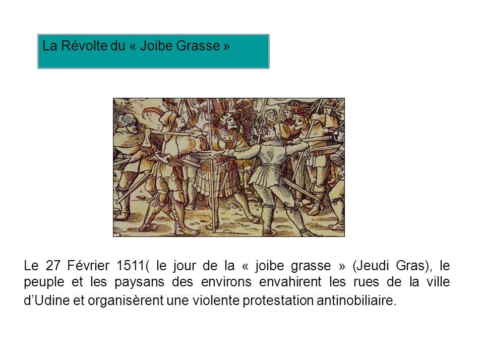 La Révolte du « Joibe Grasse »