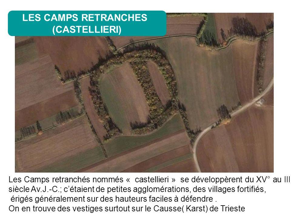 LES CAMPS RETRANCHES (CASTELLIERI)