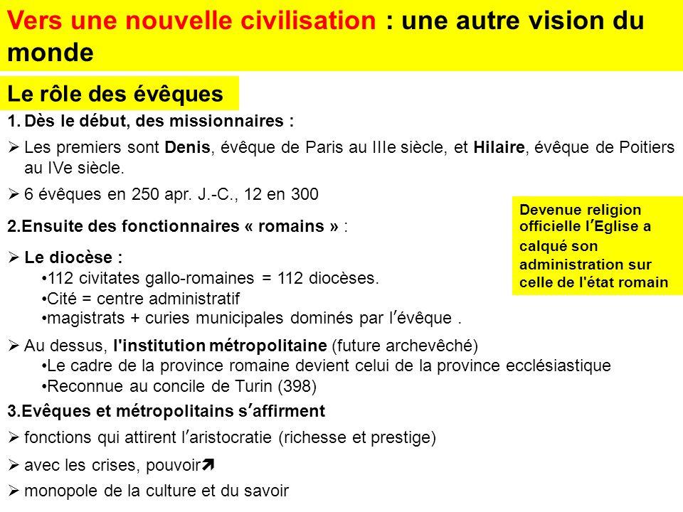 Vers une nouvelle civilisation : une autre vision du monde