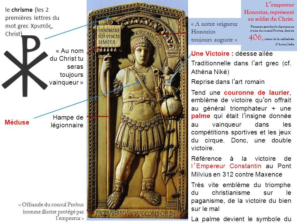le chrisme (les 2 premières lettres du mot grec Χριστός, Christ).