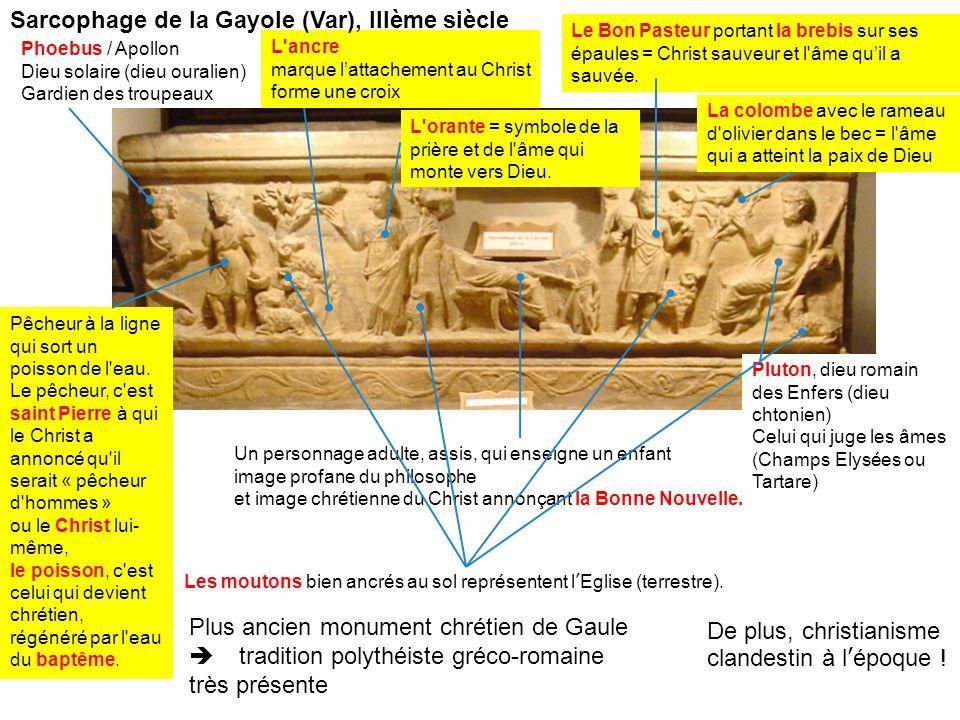 Sarcophage de la Gayole (Var), IIIème siècle