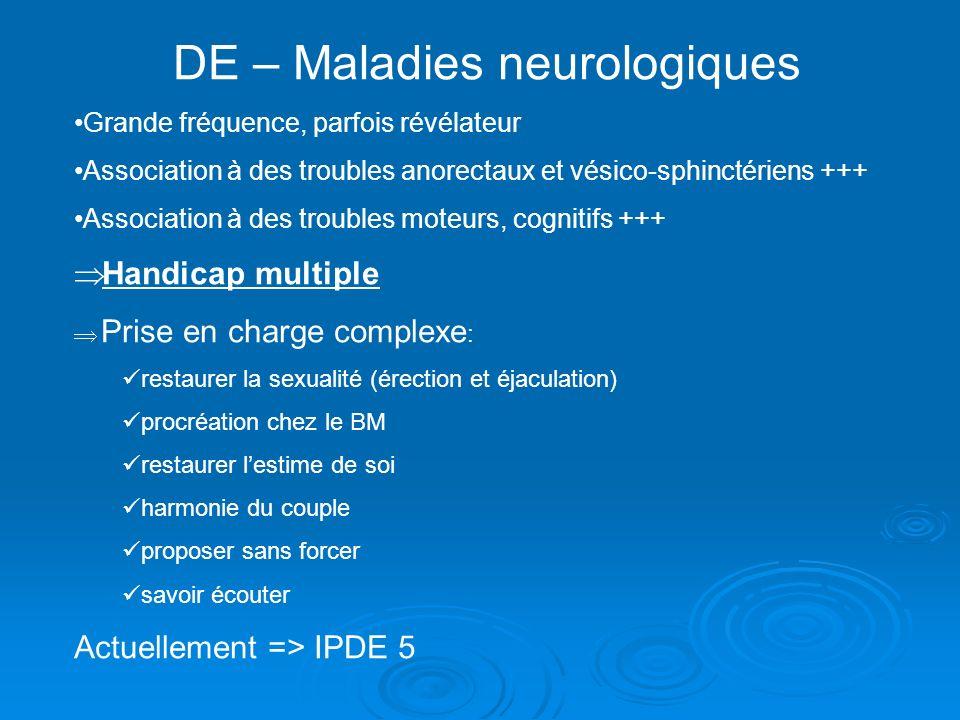 DE – Maladies neurologiques