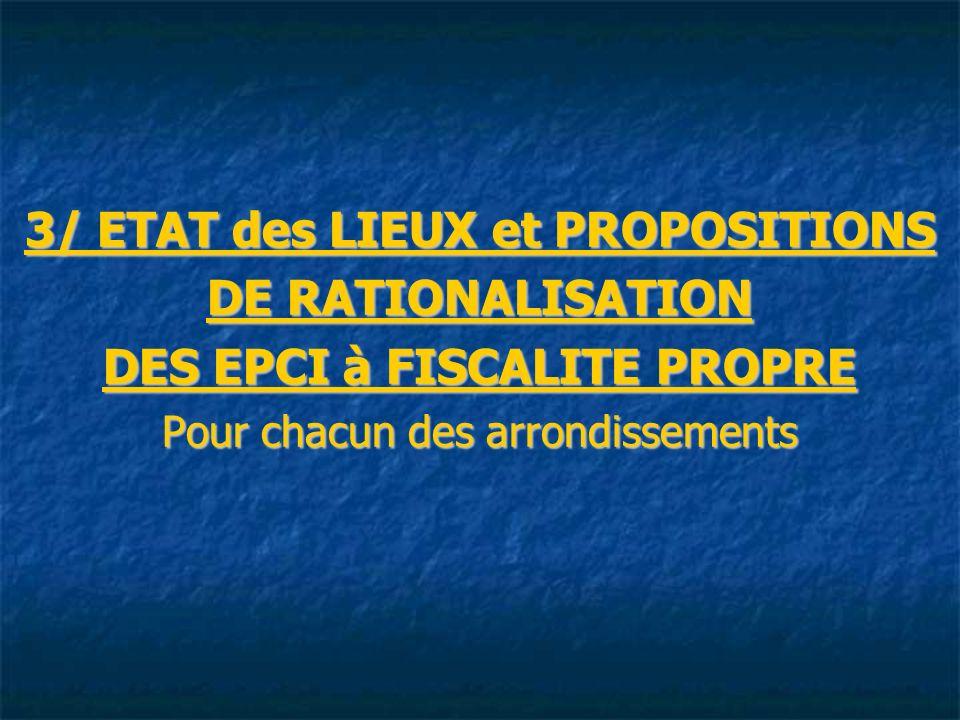 3/ ETAT des LIEUX et PROPOSITIONS