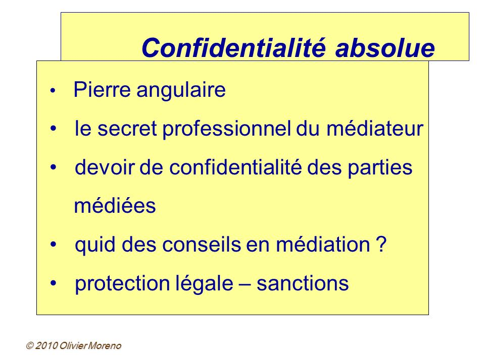 Confidentialité absolue