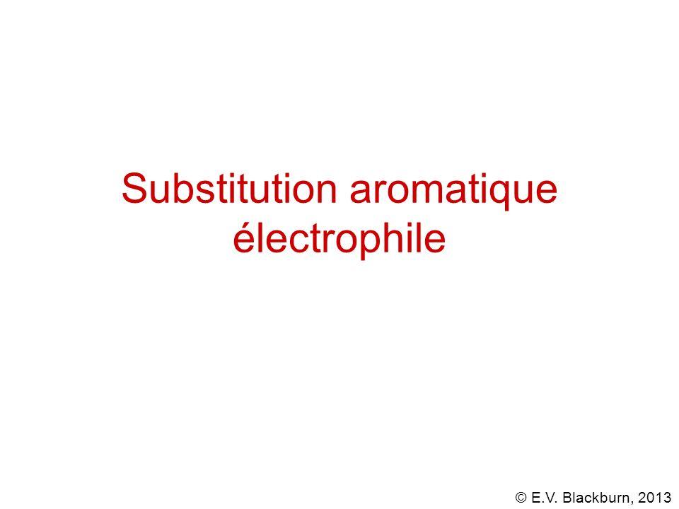 Substitution aromatique électrophile