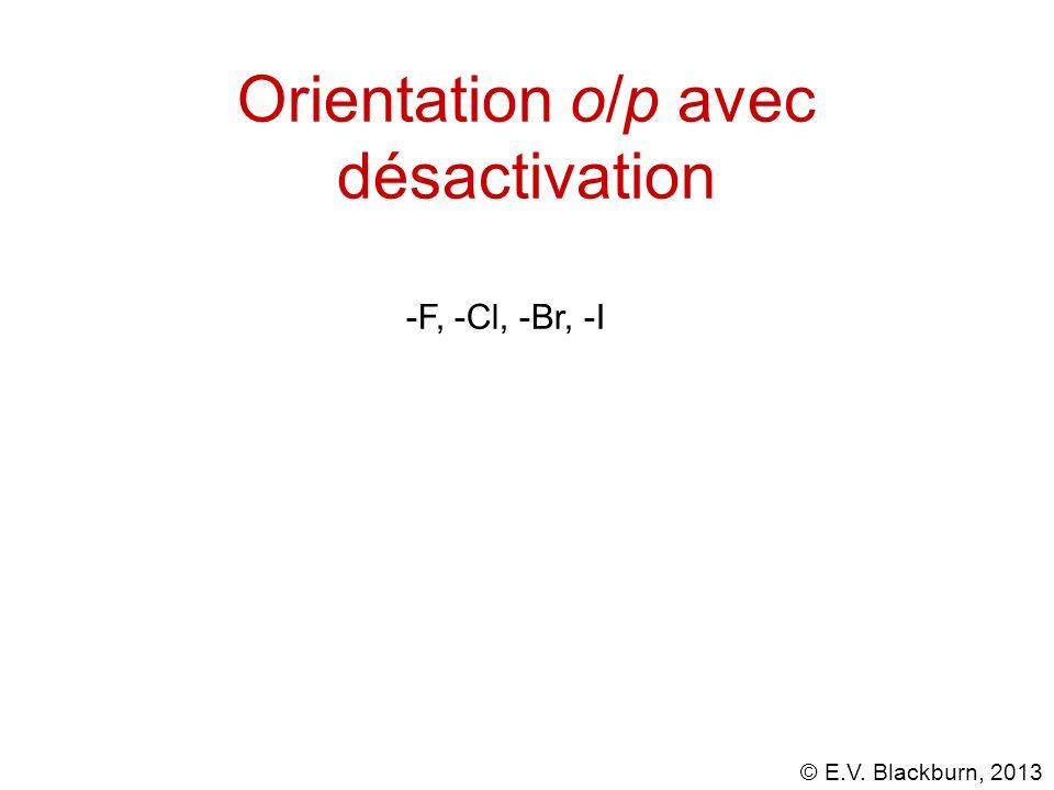 Orientation o/p avec désactivation