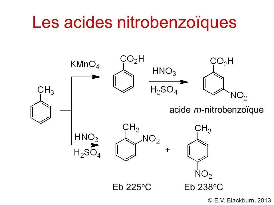 Les acides nitrobenzoïques